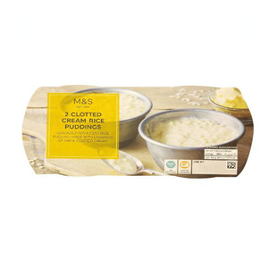 2 Clotted Cream Rice Puddings 340g