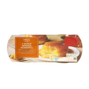 2 Syrup Sponge Puddings 210g