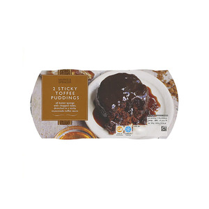 2 Sticky Toffee Puddings 230g