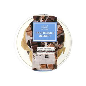 Profiterole Dessert 118g