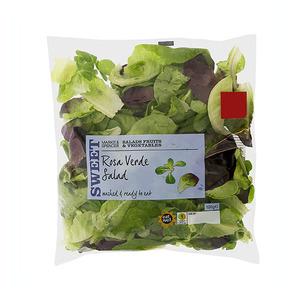Rosa Verde Salad Bag 120g