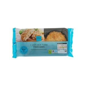 2 Skipjack Tuna Fishcakes 170g