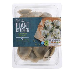 Plant Kitchen Spinach Ravioli 250g