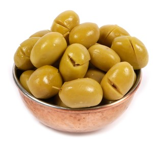 Al Douri Green Olive Cracked 500g