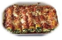 Cannelloni Ricota & Spinach Family Tray 5x1.5kg