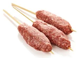 Lamb Kebab - With Skewers 500g