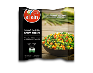 Al Ain Mixed Vegetables 3x400g