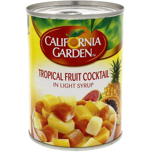 California Garden Tropical Fruit Cocktail In Light Syrup 3x420g