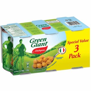 Green Giant Canned Chickpeas 3x400g