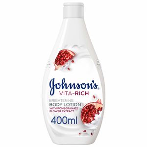 Johnson's Body Lotion Vita-Rich Brightening Pomegranate Flower 2x400ml