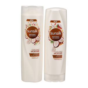 Sunsilk Shampoo Coconut Moisture + Sunsilk Conditioner 320ml