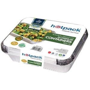 Hotpack Aluminium Container 5pc