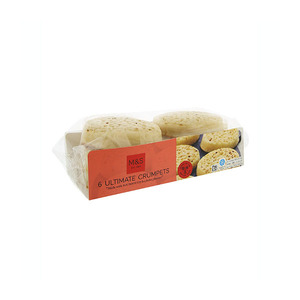 6 Ultimate Crumpets 330g