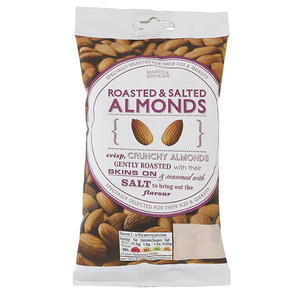 Roasted & Salted Almonds 150g