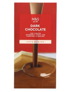 Dark Cooking Chocolate 100g