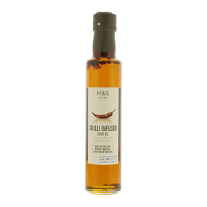 Chilli Infused Extra Virgin Olive Oil 250g