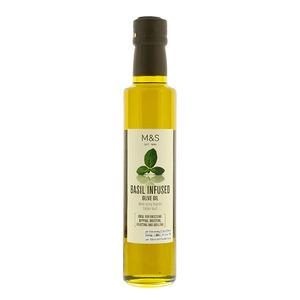 Basil Infused Extra Virgin Olive Oil 250g