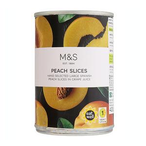 Peach Slices in Grape Juice 520g