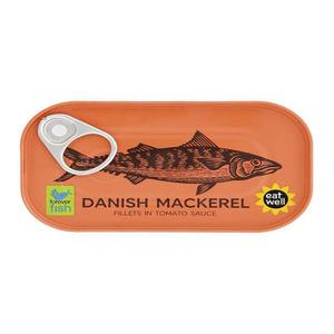Danish Mackerel Fillets In Tomato Sauce 125g