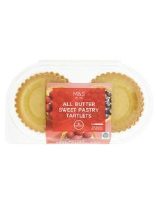 6 All Butter Tartlets 192g