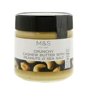 Crunchy Cashew Butter 227g