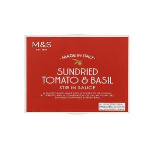 Sundried Tomato & Basil Sauce 150g