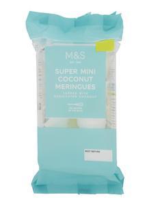Super Mini Coconut Meringues 35g