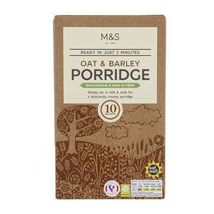 Oat & Barley Porridge in 10 Sachets 360g