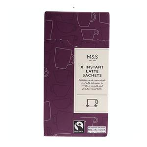 8 Instant Latte Sachets 156g