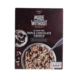 Made Without Wheat Gluten Free Triple Chocolate Crunch 360g
