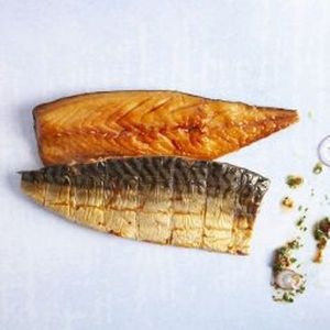Delsea Smoked peppered Mackerel 220g pkt