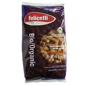 Whole Wheat Organic Fusilli 500g