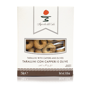 Capers And Olives Taralli Crackers 250g