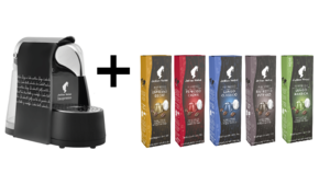 Inspresso Capsule Machine Black + 100 Capsules Free 1pc+100caps Free