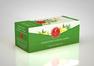 Herbal Tea Asian Ginger Lemon 25bags