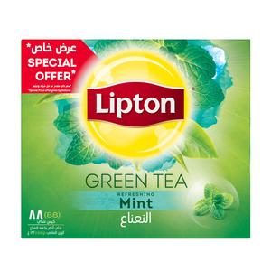 Lipton Green Tea Mint 88s