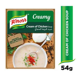 Knorr Cream Of Chicken 4x53g