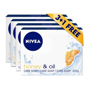 Nivea Soap Assorted 4s