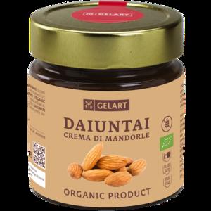 Biogelart Organic Almond Cream 300g