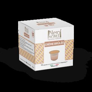 Creme Brulee Drink Capsule Nespresso Compatible 10 Caps 56g