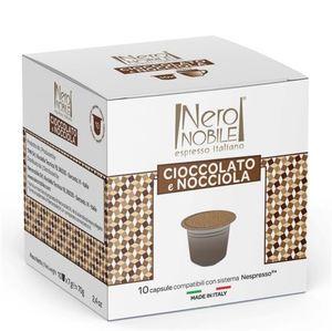 Chocolate & Hazelnut Drink Capsule Nespresso compatible 10 Caps 56g