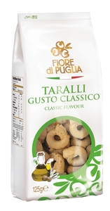 Taralli Wheat Crackers With Olive Oil 125g