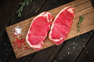 New Zealand Beef Grass Fed Striploin Steak  Reserve 500g