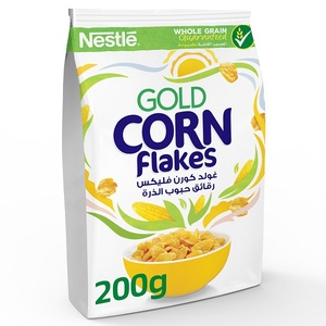 Gold Corn Flakes Breakfast Cereal 200g