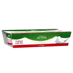 Activia Low Fat Yoghurt Set 6x150g