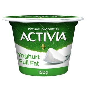Activia Full Fat Set Yoghurt 150g