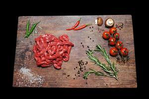 New Zealand Grass Fed Beef Stir Fry/Stroganoff 500g pack