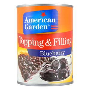 American Garden Blueberry Toppings & Fillings 595g