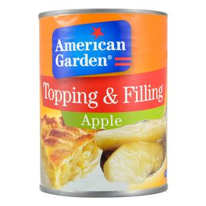 American Garden Apple Toppings & Fillings 595g