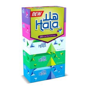 Sanita Hala Facial Tissue 200s